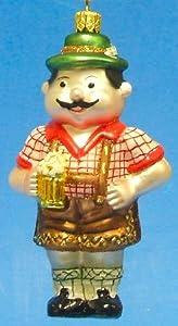 Bavarian Man German Glass Christmas Ornament from Pinnacle Peak