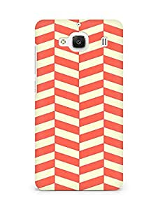 Amez designer printed 3d premium high quality back case cover for Xiaomi Redmi 2 (Orange n Yellow Pattern2)