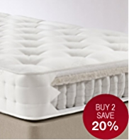 Natural 750 Mattress - Medium Support - 7 Days Delivery