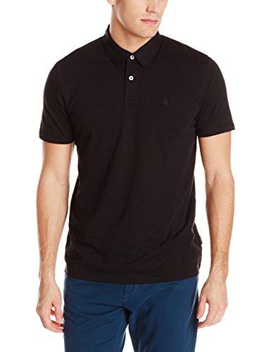Volcom Wowzer Polo-T-shirt  Uomo    nero Large