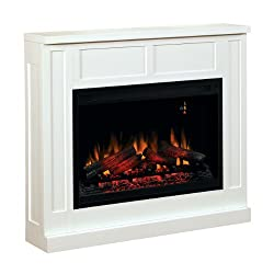 ClassicFlame 36WM2383-T401 Transitional Wall Fireplace Mantel, White (Electric Fireplace Insert sold separately) by Classic Flame