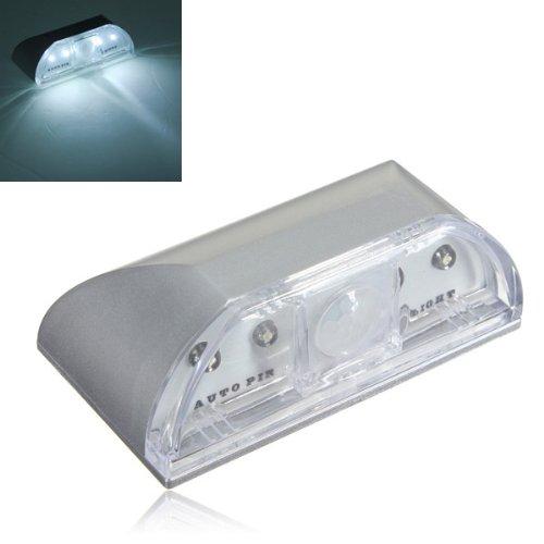 4 Led Ir Sensor Light Auto Pir Keyhole Motion Detection
