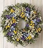 Blue Bonnet Wreath