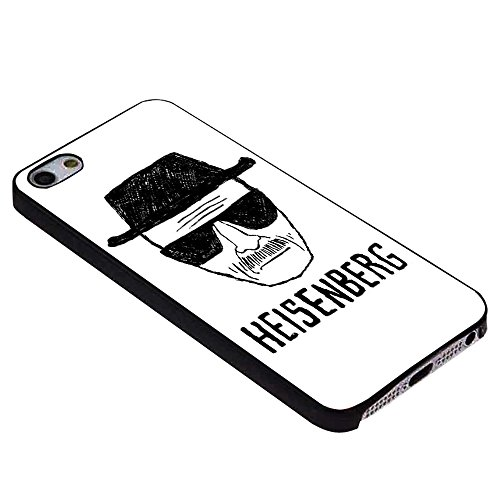 Breaking Bad Heisenberg Drawing For iPhone Case (iPhone 6S black) (Bad Drawings compare prices)
