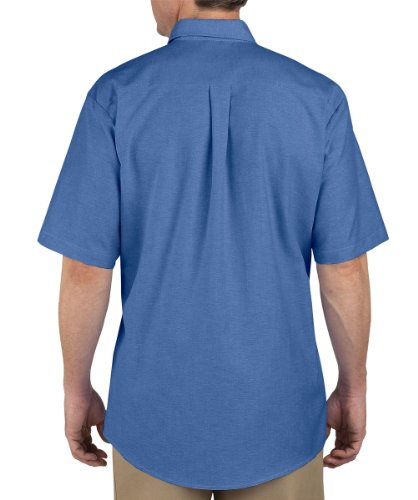 Dickies occupational workwear ss46fb 195 polyester cotton for French blue oxford shirt