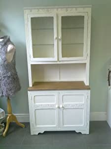 Shabby Chic Oak Dresser Hand Painted With F B Kitchen Home