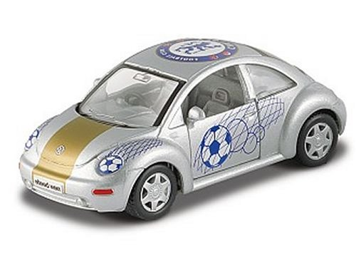 Diecast Model Chelsea FC VW Beetle in Silver