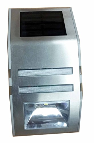 Paradise 4 Pack Solar Powered Led Accent Light Stainless