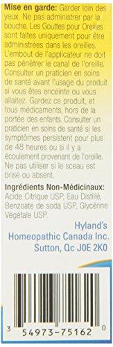 hyland 39 s earache drops 0 33 fluid ounce health beauty