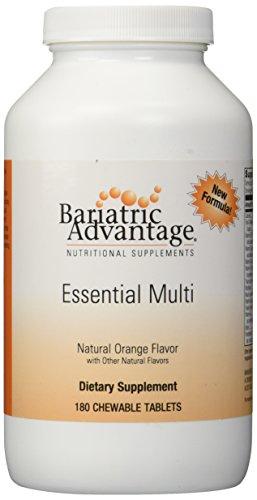 Bariatric Advantage Complete Chewable Multivitamin - 180 Count, Orange (Bariatric Advantage Essential compare prices)