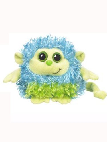 Blue & Green Monkey Whoorah Friends Plush by Ganz - 1