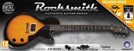 Rocksmith and Epiphone Les Paul Guitar (PC DVD)