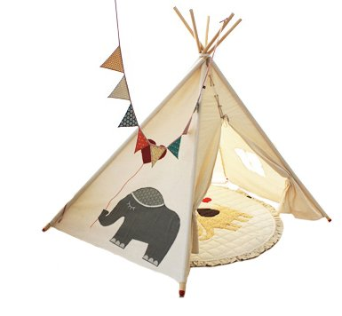 Kids Teepee Tent front-111270