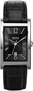 Hugo Boss 1512160 - Orologio da polso uomo, pelle