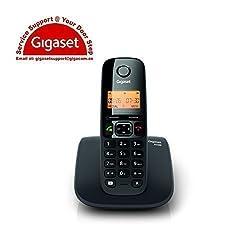 Gigaset A530 Cordless Landline Phone(Black)