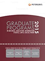 Graduate Programs in Business, Education, Information Studies, Law & Social Work 2015