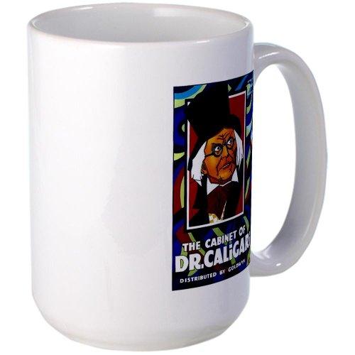 Cafepress The Cabinet Of Dr. Caligari Silent Movie Poster La Large Mug - Standard