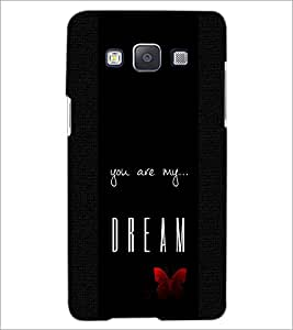 PrintDhaba Quote D-4416 Back Case Cover for SAMSUNG GALAXY A5 (Multi-Coloured)