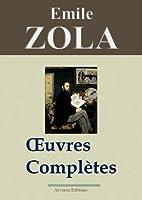 Emile Zola : Oeuvres compl�tes - 101 titres et annexes (Nouvelle �dition enrichie) Arvensa Editions