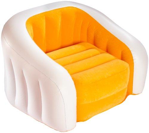 Intex Inflatable Air PVC Cafe Club Chair, Multi Color