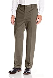 Dockers Men's Signature Khaki D3 Classic-Fit Flat-Front Pant