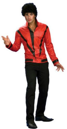 Michael Jackson Rd Thriller Jacket Deluxe Adult Sm Adult Mens Costume