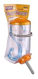 ALEX Design-Chinchilla Rabbit Hamster Water Cage Auto Smart Bottle 250 / 500ml (Orange, 500ml)