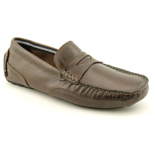 Clarks Circuit Perez Moc Loafers Shoes Brown Mens