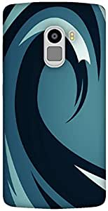 The Racoon Grip printed designer hard back mobile phone case cover for Lenovo K4 Note. (Waves)