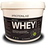 The Protein Lab Whey Protein Powder 40g/908g/2.25kg/4kg Free Shaker with all tubs - not sample (Chocolate, 40g Sample)