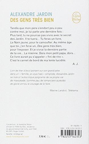 Libro des gens tres bien di jardin - Alexandre jardin des gens tres bien ...