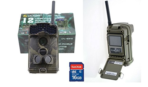 Fototrappola Ltl Acorn 6310MG MMS 6310 HD Hunting Camera Videotrappola Scouting Keep Trial Camera
