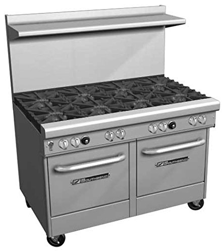 Southbend-400-Series-Ultimate-Restaurant-Range-60-10-Burner-1-Std-1-Cnv-Oven-4601AD