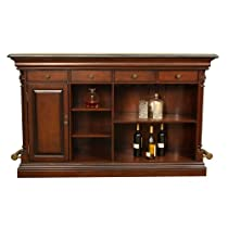 Hot Sale Emilio Decorative Bar w Foot Rail