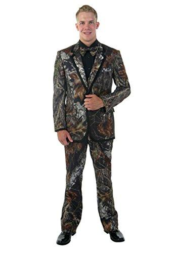 [Mossy Oak Formal Tuxedo (Large) (Large)] (Mossy Oak Tuxedo Adult Costumes)