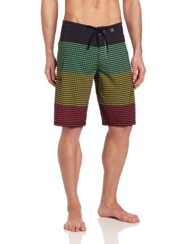 Hurley - Mens Point Phantom Boardshorts, Size: 30, Color: Rasta