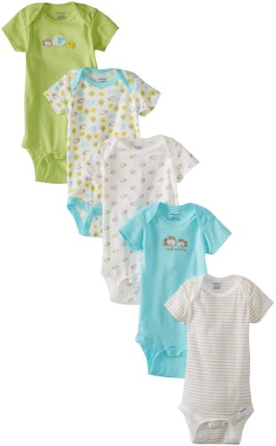 BON BEBE Unisex Baby Best Friends 2 Pack Assorted Coverall Set
