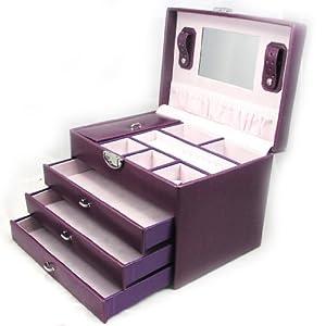 Amazon.com - Jewellery box 'La Somptueuse' purple. - Jewelry Boxes