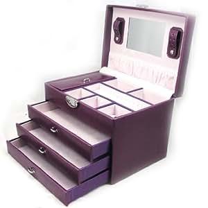 Amazon.com - Jewellery box 'La Somptueuse' purple