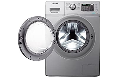 Samsung WF602U0BHSD/TL Fully-automatic Front-loading Washing Machine (6 Kg, Silver)