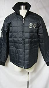 Jeff Gordon #24 Ladies Small Black Racing Jacket AMZ 34 by Chase Authentics