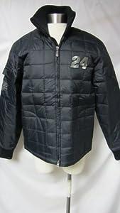 Jeff Gordon #24 Ladies Large Black Racing Jacket AMZ 36 by Chase Authentics