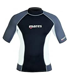 Mares Rash Guard Top - Mens Short Sleeve-S