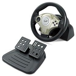 Genius Twin Vibration Feedback F1 Racing Wheel
