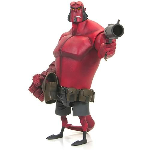 Hellboy 10 Inch Deluxe Action Figure Hellboy [Animated Style] - Buy Hellboy 10 Inch Deluxe Action Figure Hellboy [Animated Style] - Purchase Hellboy 10 Inch Deluxe Action Figure Hellboy [Animated Style] (Hellboy, Toys & Games,Categories)