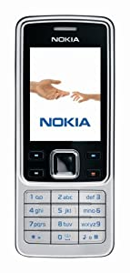 Nokia 6300 black silver (EDGE, Bluetooth, Kamera mit 2 MP, Musik-Player, Stereo-UKW-Radio, Organizer) Handy