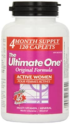 Nu-Life The Ultimate One Original Women A Countive Caplets, 120 Count Bottle