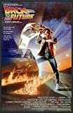 Back to the Future Movie (Michael Looking at Watch) 24x36 Wood Framed Poster Art Print