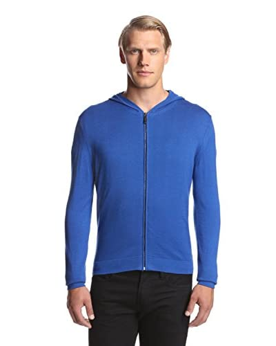 Calvin Klein Collection Men's Cotton/Cashmere Zip Hoodie