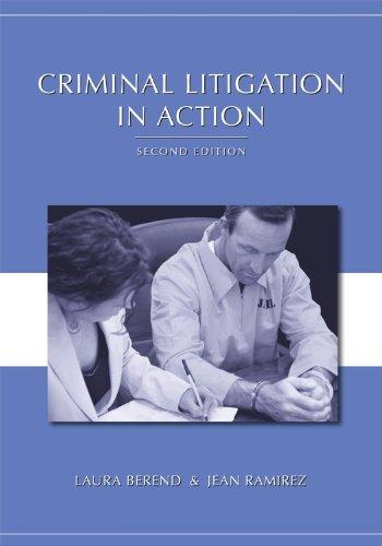 Criminal Litigation in Action